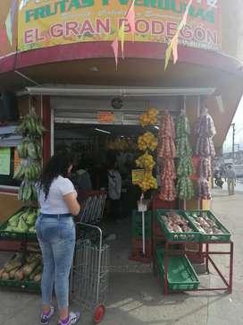 Vendo exelente negocio completo de frutas y verduras