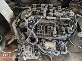 repuestos y Motor completo VW Jetta turbo funciona todo
