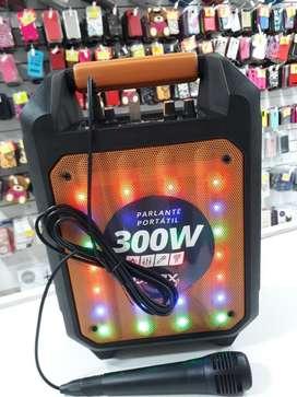 Parlante Karaoke 300w