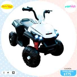 Moto Cuadron a Batería para Niños