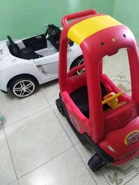 Carro de Baterías y otros juguetes
