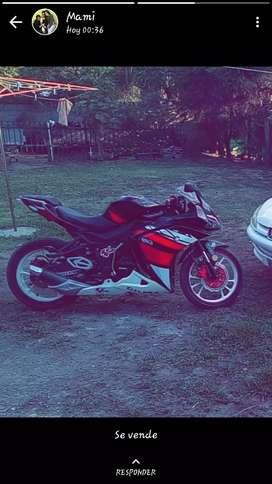 Vendo exelente moto