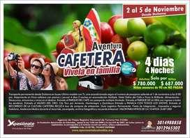 PLAN EJE CAFETERO TODO INCLUIDO 6 PASEOS
