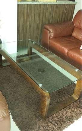 Mesa de centro para sala o para el espacio que más te guste. Tus adornos u objetos se verán espectaculares por el diseño