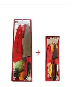 Cuchillo De Chef Grande Y Cuchillo Pequeño Betty Crocker