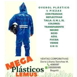 OVEROL PLASTICO