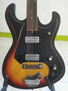 Guitarra Tiesco Japonesa Años 70