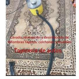 Lavado y desmanchado de todo tipo de alfombras y tapetes