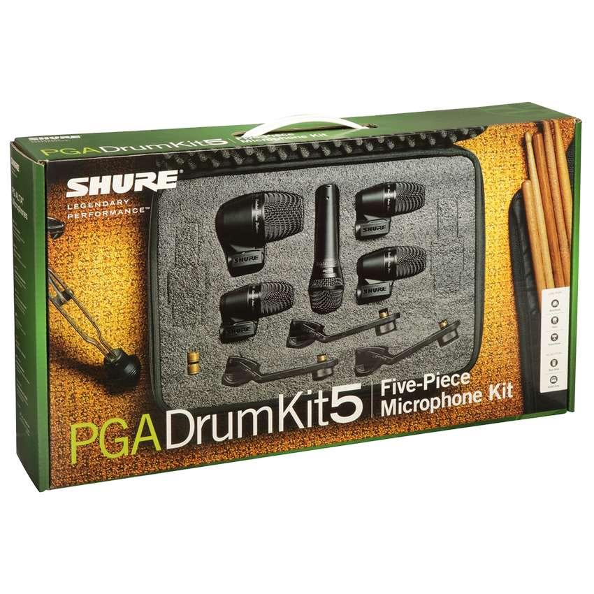 Microfonos Shure PGADRUMKIT7 bateria Set 7 0