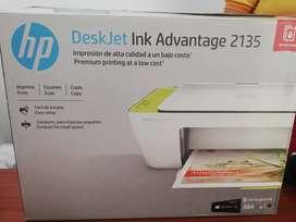 Vendo Impresora hp deskjet ink Advantage 2135