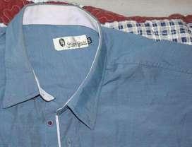 Camisa Young Years Azul Manga Corta