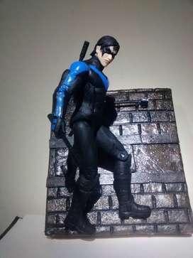 Nightwing diorama custom
