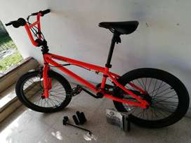 BICICLETA VINTAGE -Mongoose Modo 180 BMX Freestyle color Naranja
