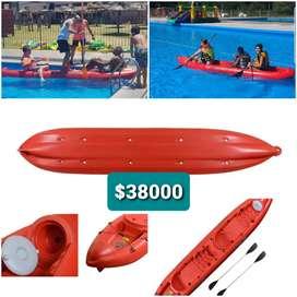 Kayak atlantik's triplo