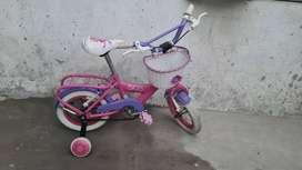 bicicleta rodado 12 para niña