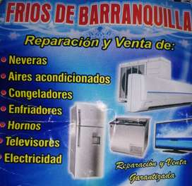 Refrigeración.,neveras,aires, enfriadores. Congeladores