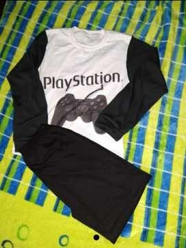 Pijama PlayStation Niños ralle 10/12