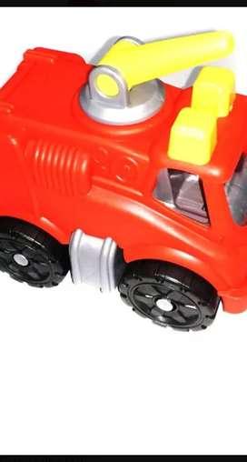 Mini camión de bomberos Duravit, mini ambulancia, mini autitos.