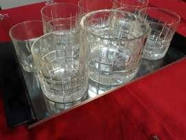 Vasos Juego de Wisky