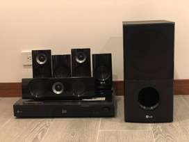 Vendo Flamante Home Theater LG Blu-Ray 3D 5.1 canales