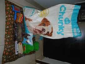 Combo Comida y elementos de cuidado para perro