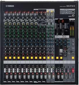 Yamaha MGP16X Mezclador Análogo con Efectos de 16 Canales