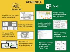 PROFESOR CLASES PARTICULARES DE EXCEL COMPLETO Y POWER BI PARA ESTUDIANTES Y EMPRESAS