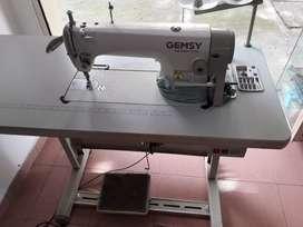 Maquina de coser inductrial plana
