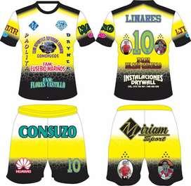 Camisetas de fútbol confección