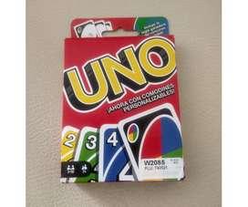 Divertido juego de cartads UNO new