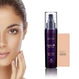 CLARO 1  Dazzle HD Cover Belleza Maquillaje  Base Liquida ama