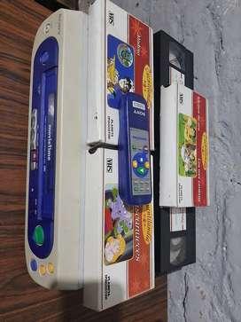 VHS Sony slv/ks1 Movietime con control original y cintas.