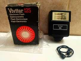 Flash Vivitar 125 Automatico