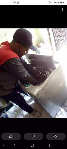 Tecnico en lavadora y neveras