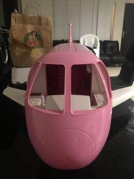 Avión de la barbie