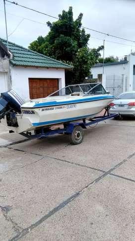 Lancha Bermuda Caribbean con Evinrude 140 hp