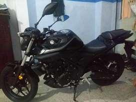 Vendo mt 03 Yamaha como nueva