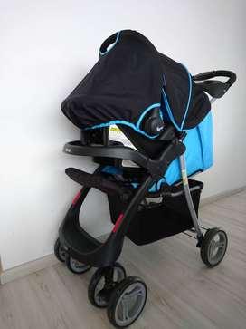 COCHE INFANTI E30 AZUL