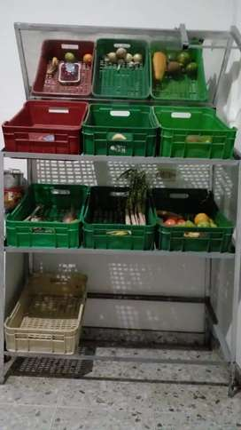 Vendo estante de verduras