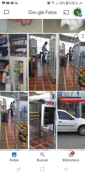 Se vende panadería bien acreditada se sede local con muy buenas ventas diarias ,se sede todas las fórmulas  originales