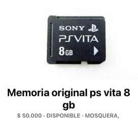 Memoria PS VITA 8 gb