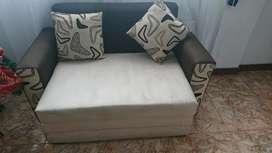 Sofá cama seminuevo