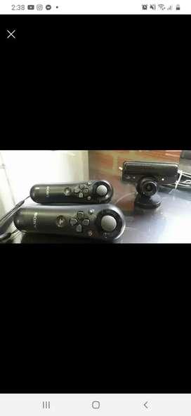 Controles de movimiento y cámara de ps3