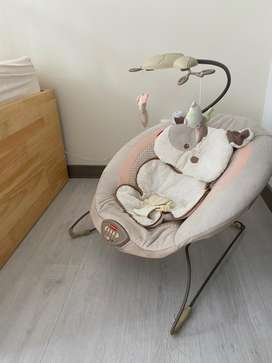 Silla para bebe vibradora marca fissherprice