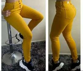 Vendo jeans studio f. Color mostaza