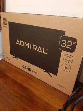 """Smart TV 32"""" Admiral. Nuevo y en caja cerrada."""