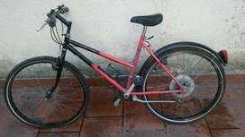Bicicleta Mtb Usada Como Nueva Rodado 26