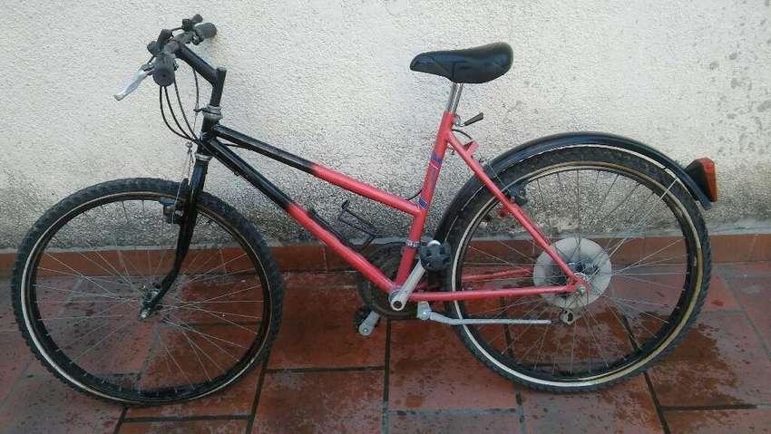 Bicicleta Mtb Usada Como Nueva Rodado 26 0