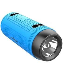 Parlante para Bicicleta o Camping Linterna incorpada Bluetooth PowerBank