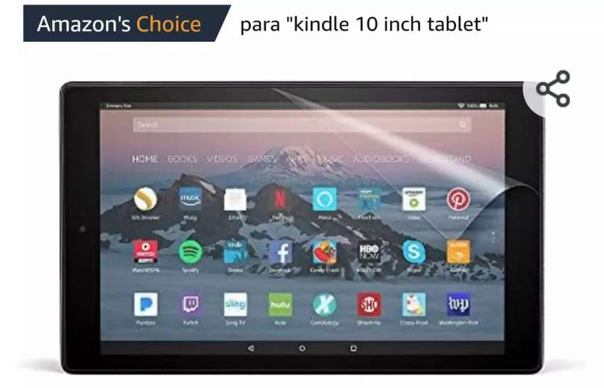 Mica para tablet marca Nupro 0